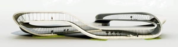 An Endless Möbius Strip Building Entirely 3D Printed by 2014