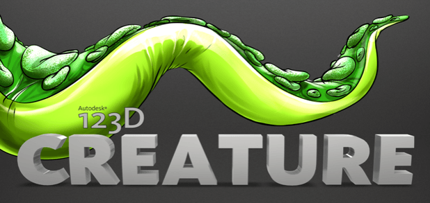 Autodesk New iPad App 123D Creature Integrates Sculpteo 3D Printing Cloud Engine