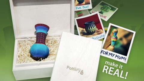 Faites de la poterie avec l'impression 3D : des pots imprimés en 3D avec Sculpteo