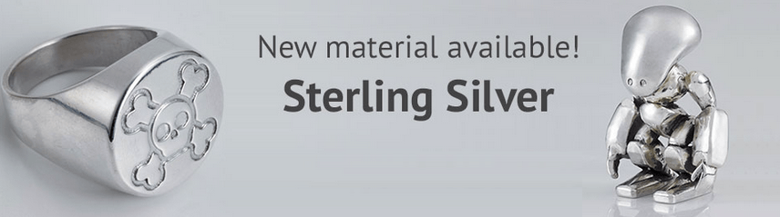 We're launching two new materials: Silver and Wax!
