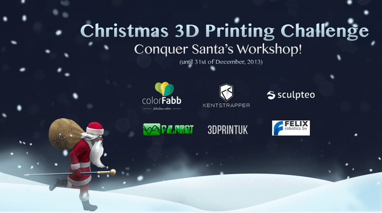 Christmas 3D printing Challange with CGTrader.