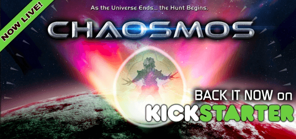 3D printing kickstarter project: Chaosmos card strategy game!