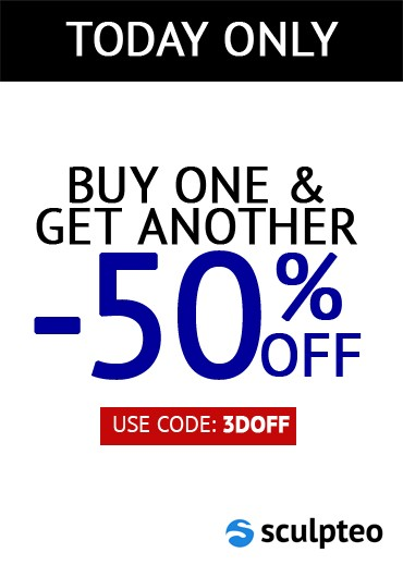 Special offer: Buy one and get 50% off for your second item.