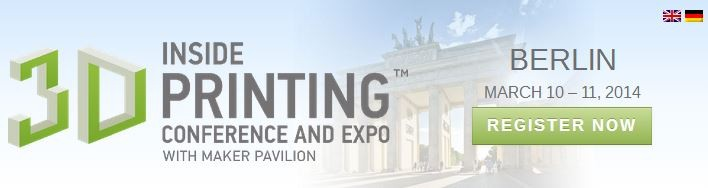 Sculpteo at the Inside 3D printing Berlin Show!