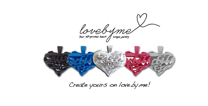 Love.by.me lets you create unique jewelry to share with your love one