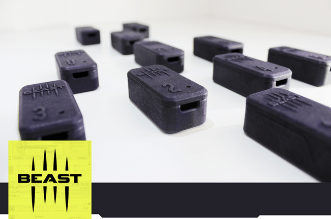 Beast Technologies creates fitness tracker with 3D printing - Sculpteo