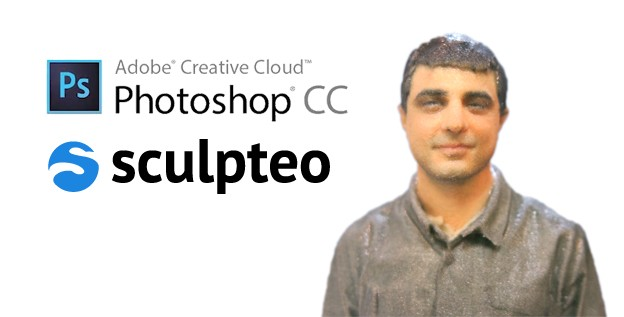 Sculpteo now integrated with Photoshop CC