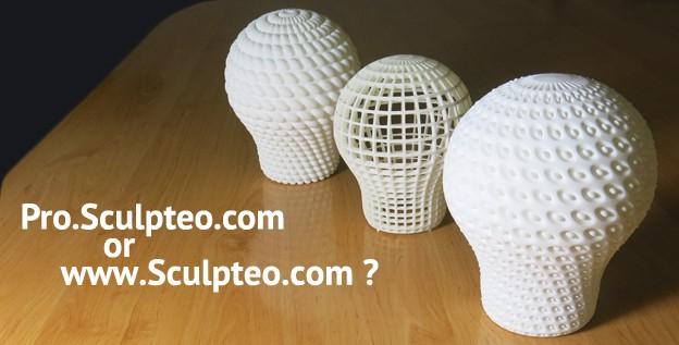 www.sculpteo.com & pro.sculpteo.com : what differences?