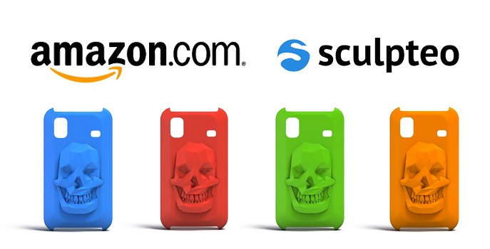 Sculpteo's 3D printed products from designers now available on Amazon.com