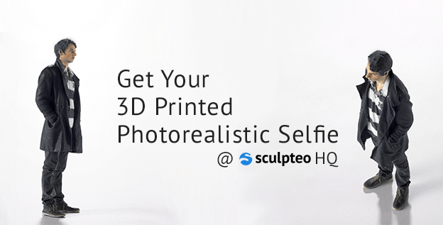 Next-Gen Selfies are 3D Printed: Get A Figurine of Yourself