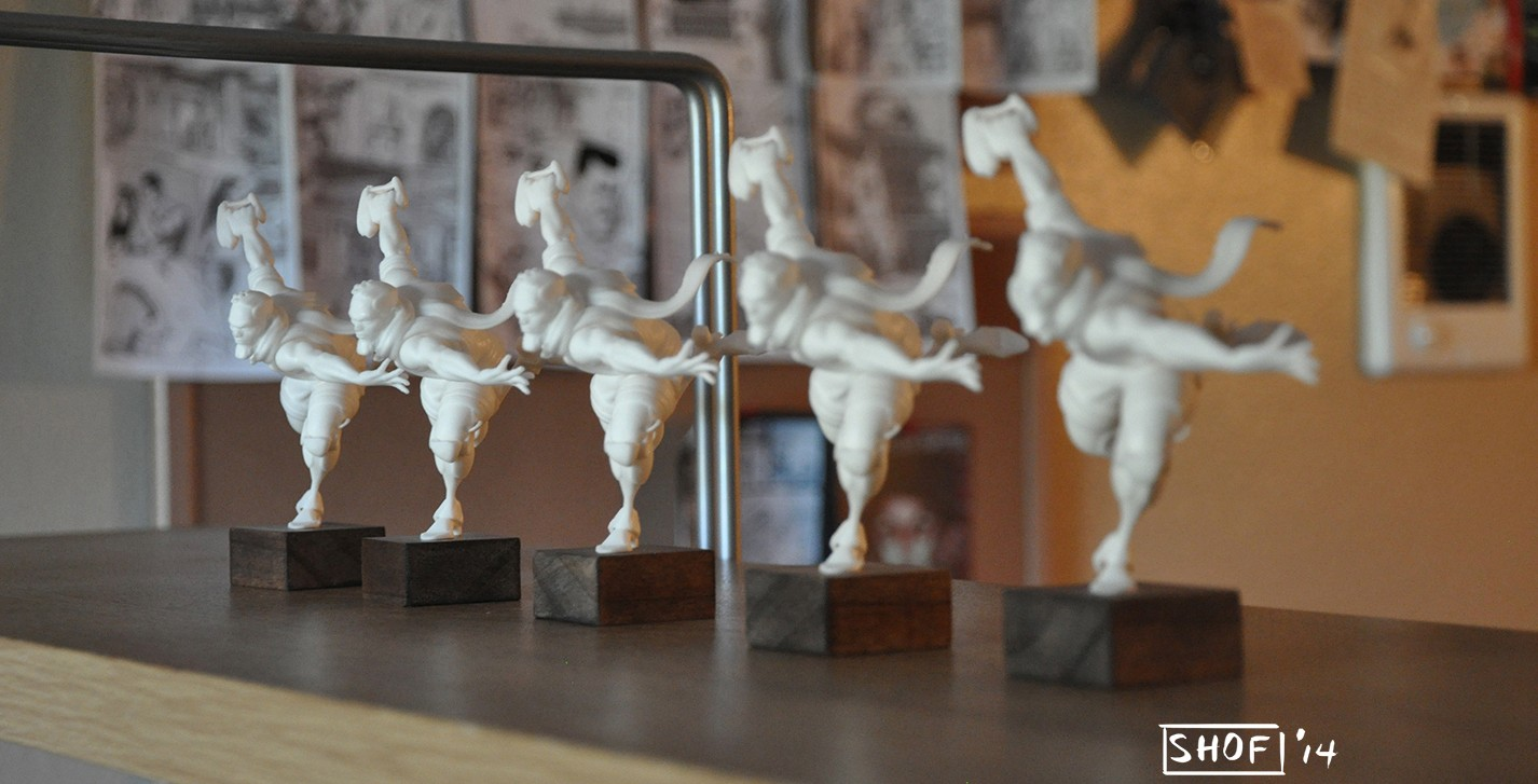 A Gorgeous Comic & Its 3D Printed Figurines | Sculpteo Story