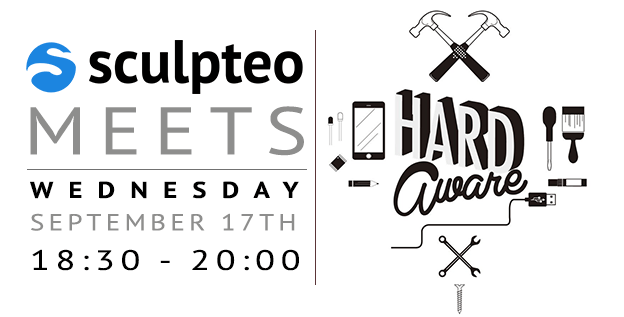 Meet Sculpteo at the 3D printing HardAware Meetup!