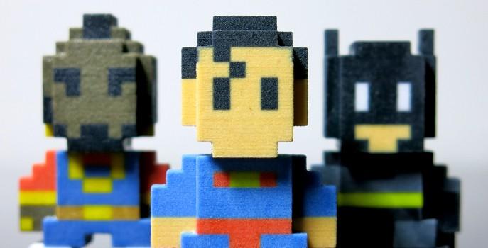 3D printing brings Pixel Art alive!