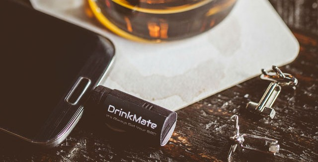 DrinkMate, the smallest connected Breathalyzer now on Kickstarter