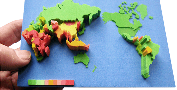Beyond Excel : Give life to your data with 3D Printing