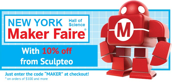 Special reduction for Maker Faire New York