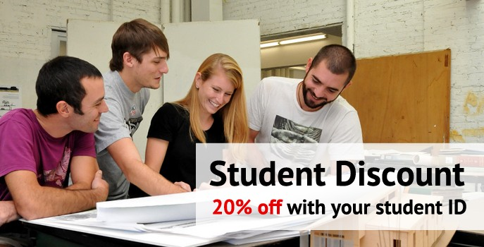 New Reductions Exclusively for Students
