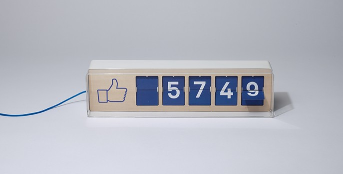 Fliike, the Facebook Likes Counter, prototyped through our services