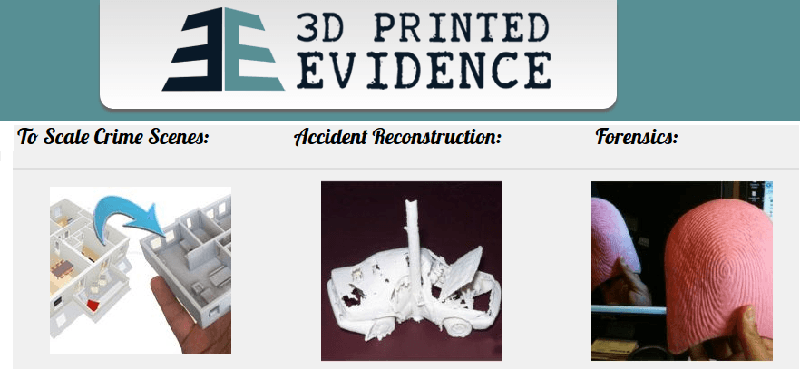 3D Printed evidence
