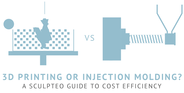 3D Printing or Plastic Injection : our guide to cost efficiency