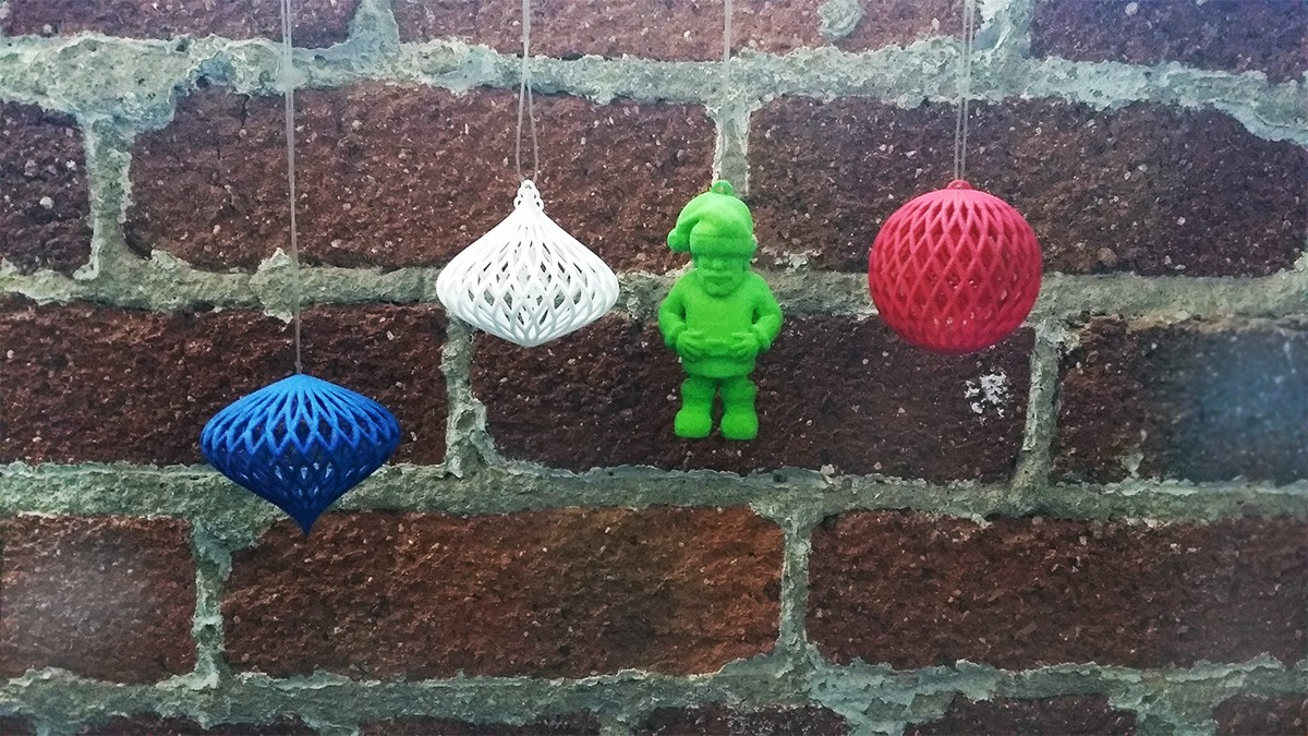 Happy 3D Printed Christmas!