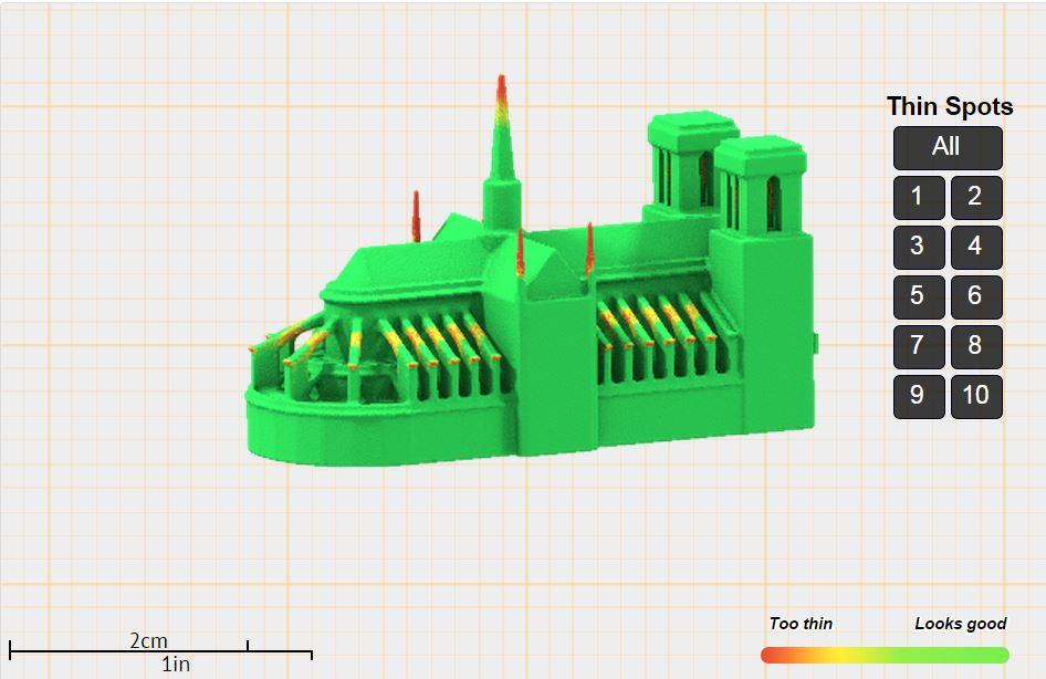 Thin Part - 3d models