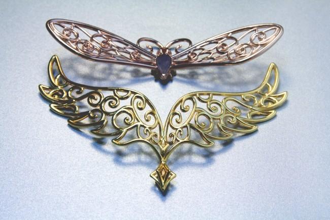 ailes or et rose light