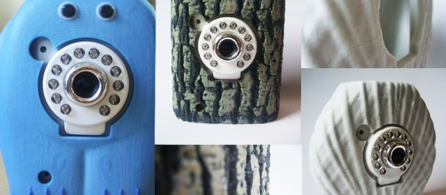 3D printing to embellish security cameras