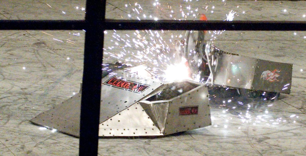 Sculpteo 3D Printed Prizes for Robogames 2015