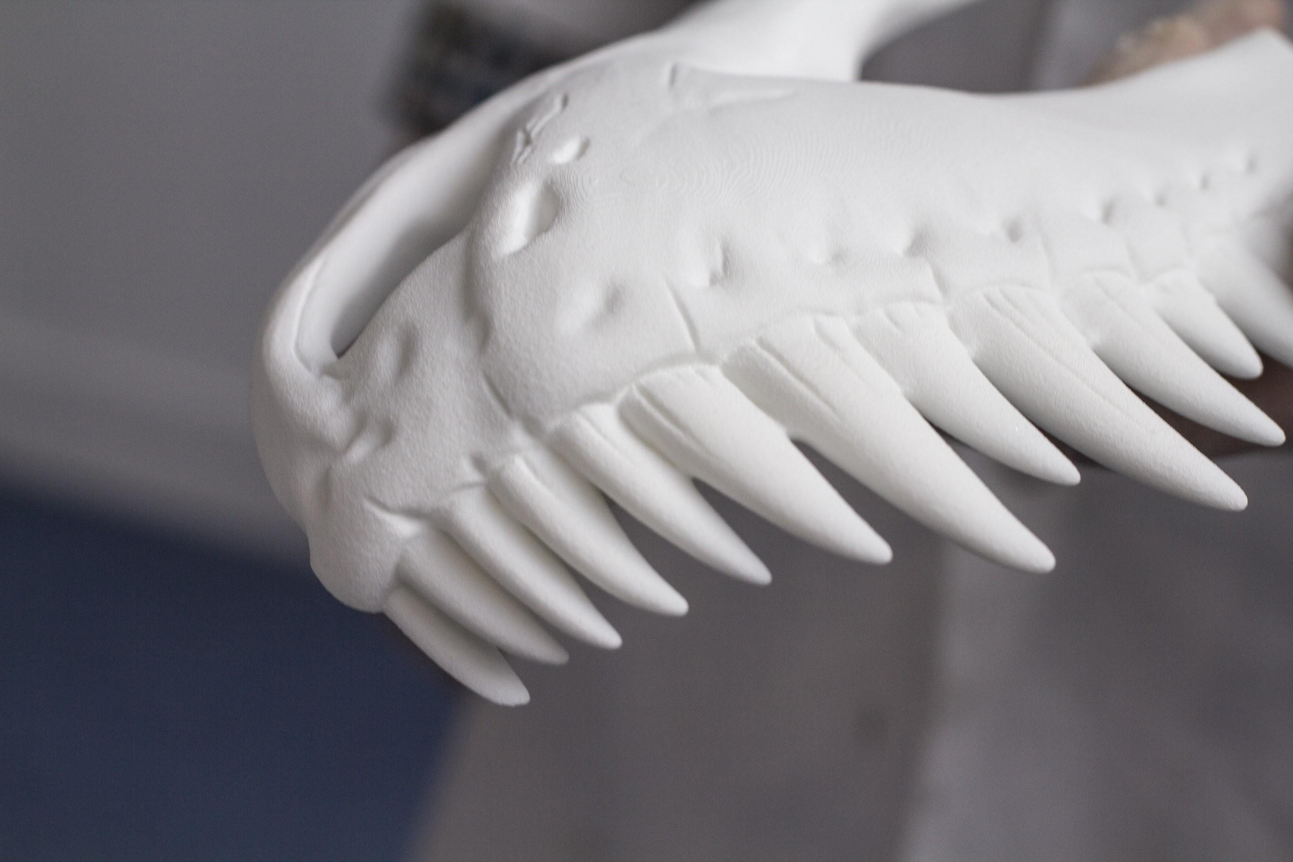 3D Print Dinosaur Skull using SLS 3D Printer