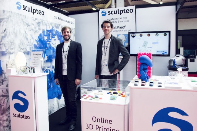 Meet Sculptep's team at Paris 3D Printshow on Oct 16-17th