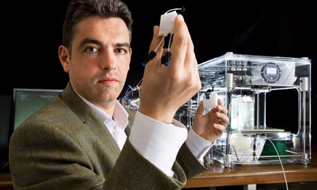 Lee Cronin professor of chemistry in Glasgow University