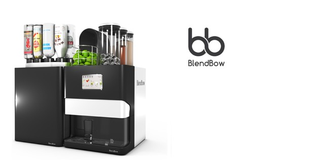 Discover BlendBow the cocktail machine with 3D printing