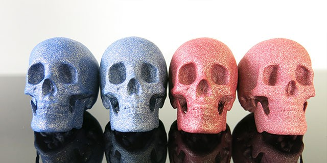 3D printing: Colored and New Polished Alumide is available!
