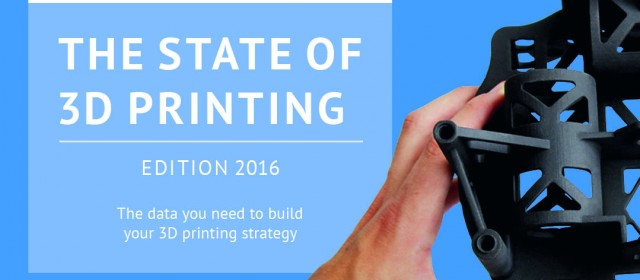 Join the 2016 edition of our The state of 3D printing survey!