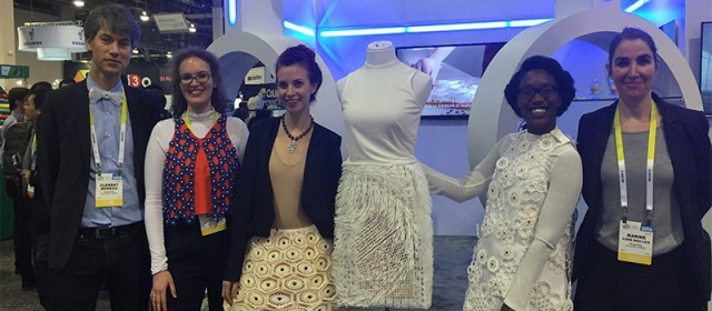 3D printed Fashion Collection, Meetups and more at CES 2016