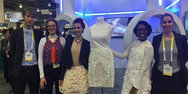 CES 2016: Virus, Sculpteo's 3D Printed Fashion Collection
