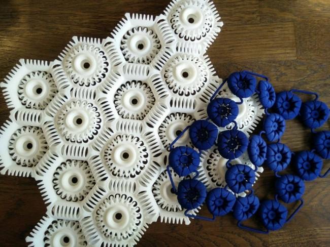 Virus collection 3D printed fashion samples anastasia ruiz