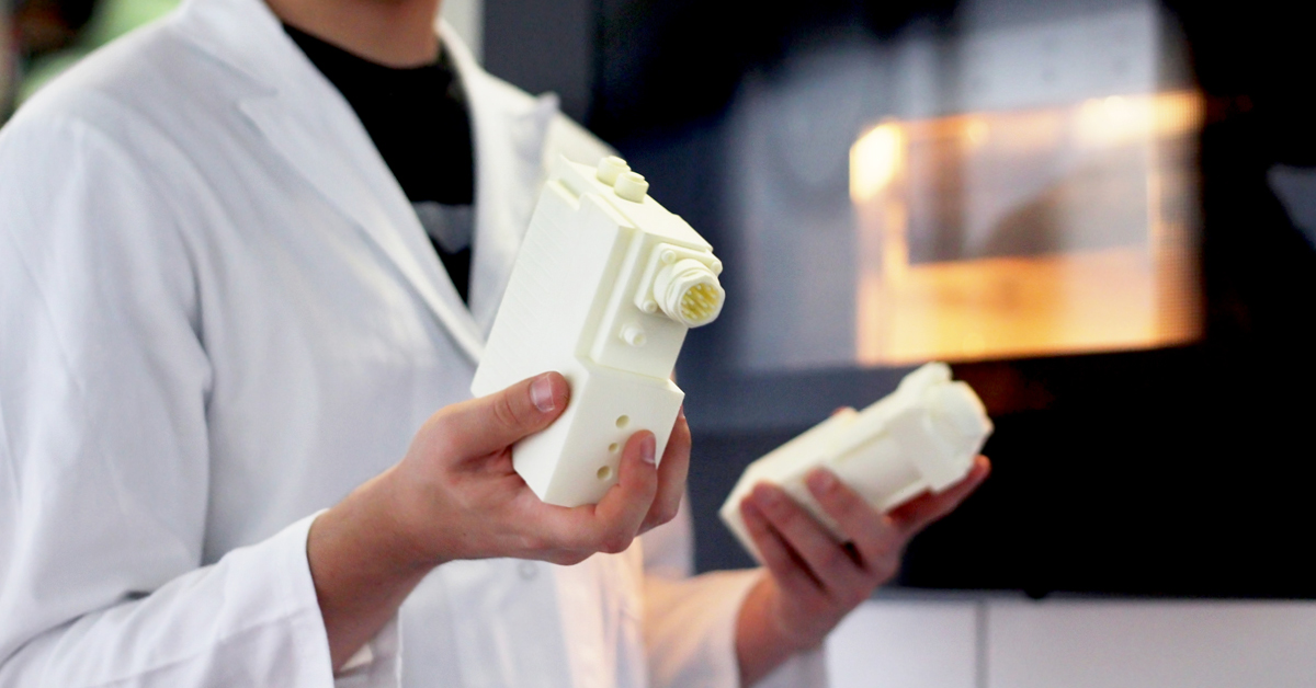 Discover our new material for 3D printing: white detail resin