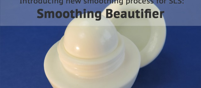 Introducing the Smoothing Beautifier: a new standard for high-quality 3D printed parts