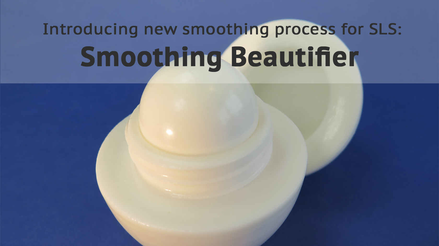 Introducing the smoothing beautifier for plastic 3D prints