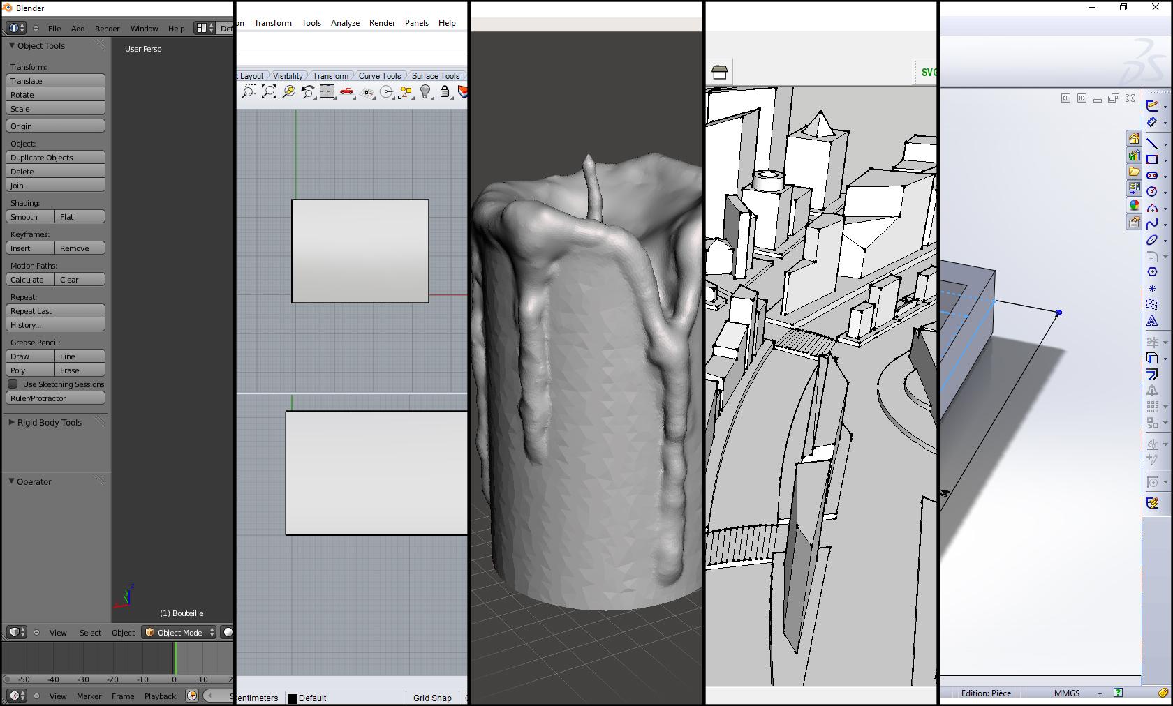 Top 5 des logiciels de modélisation 3D pour Windows
