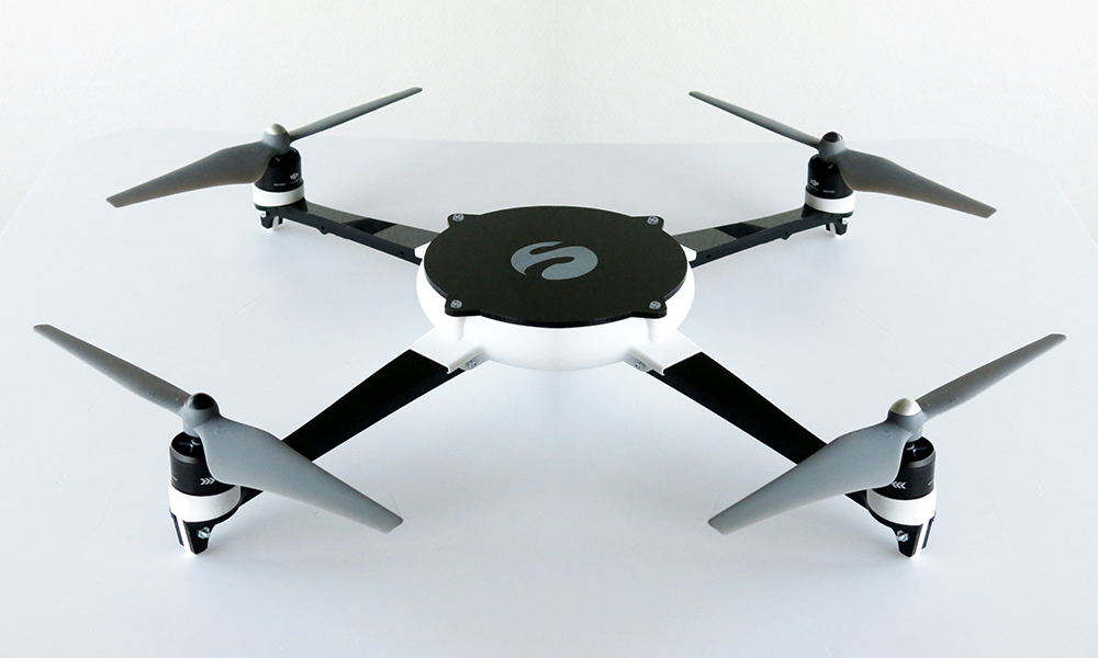 A Drone that combines Laser Cutting and 3D Printing!