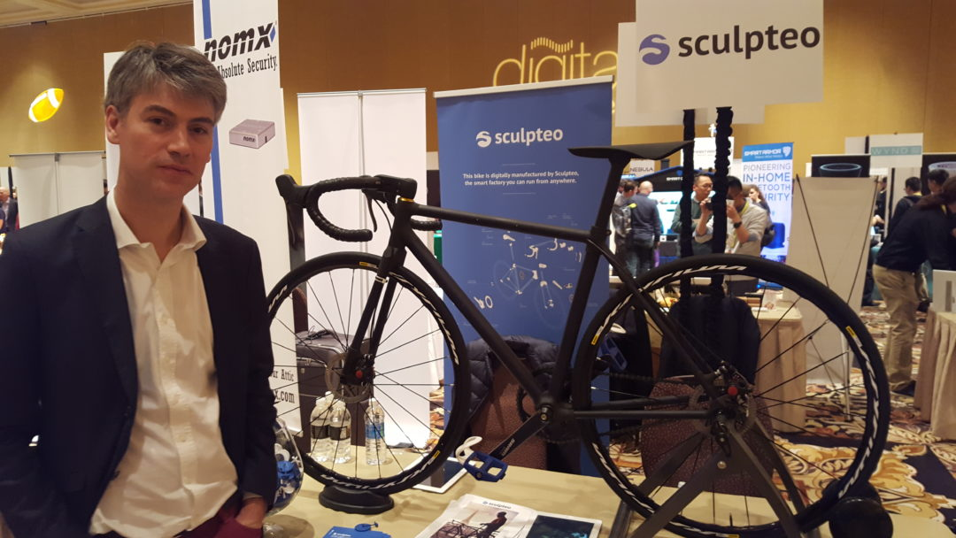 Sculpteo Bike Project arrived in Las Vegas