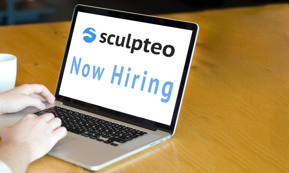 3D printing hires! Apply now at Sculpteo!