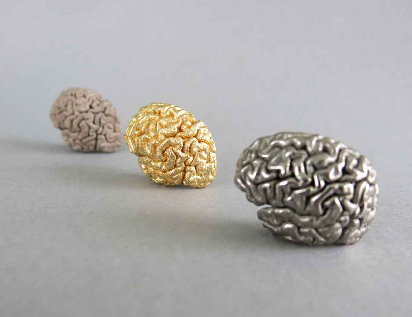 3D Printed Brain with Binder Jetting Stainless Steel