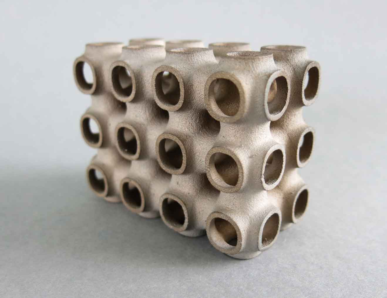 3D printing with new material Metal Binder Jetting Stainless Steel