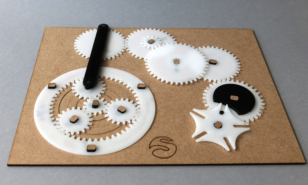 From 3D printed gears to functional mechanism