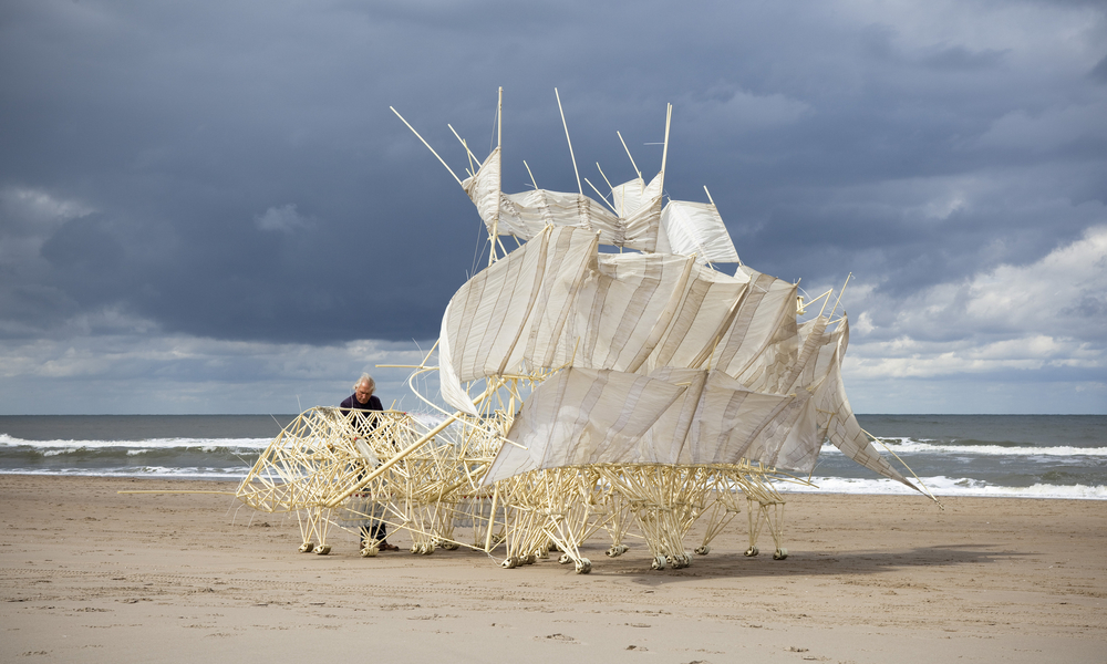 3D printed robot: How to build a Strandbeest
