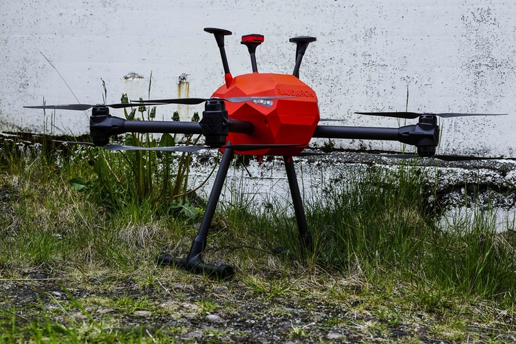 3D printed drone Svarmi